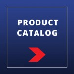 BVS - product catalog blue background red arrow