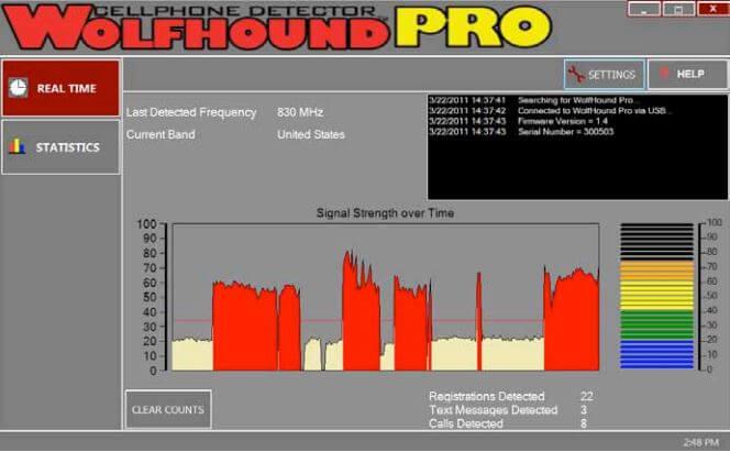Wolfhound-PRO PC Software | BVS Wireless Detection