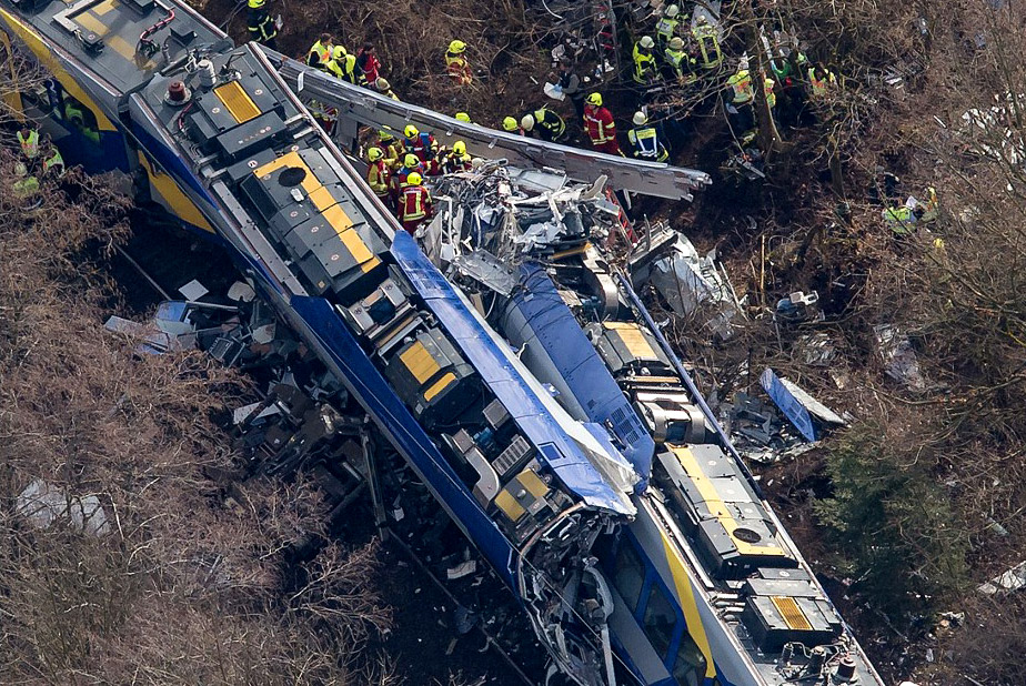 train disaster in Germany