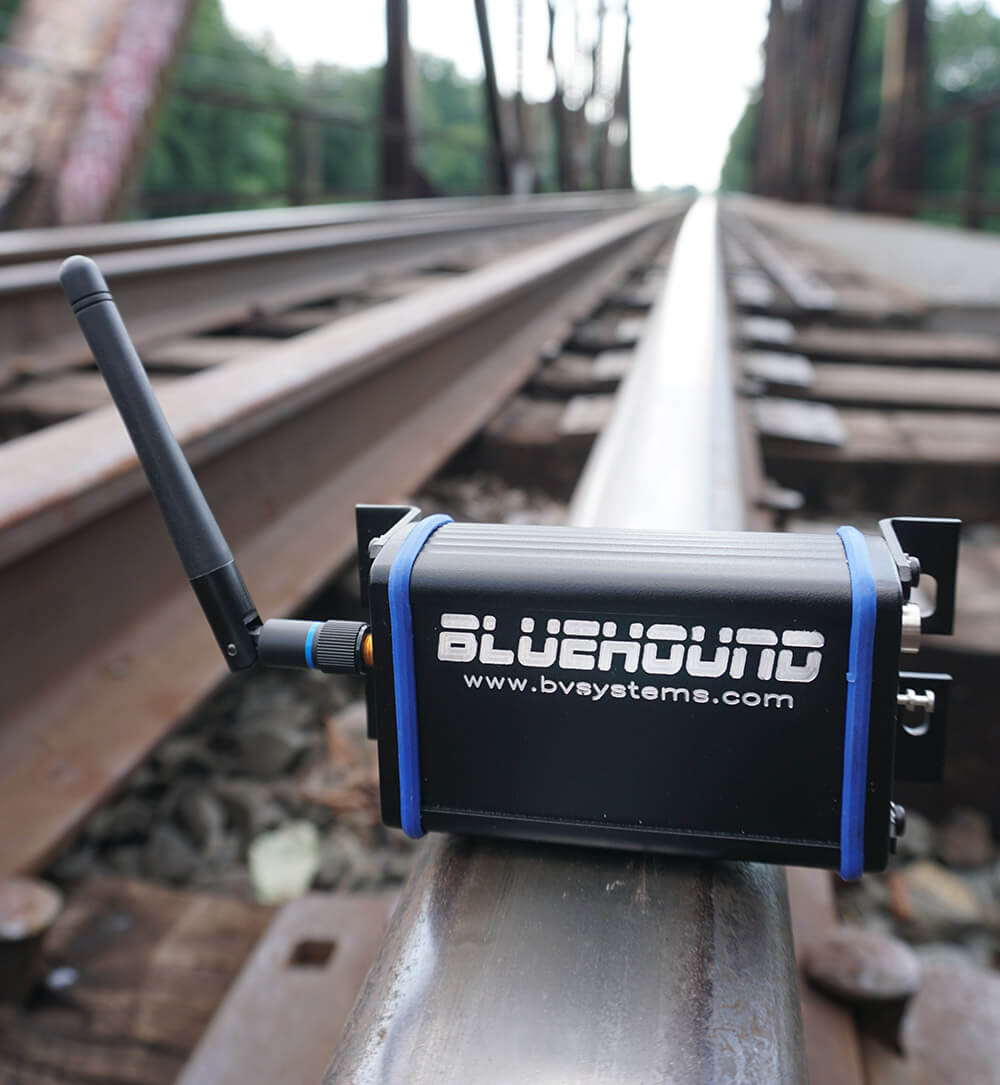 BlueHound Bluetooth Receiver Detects Distracted Railway Operators