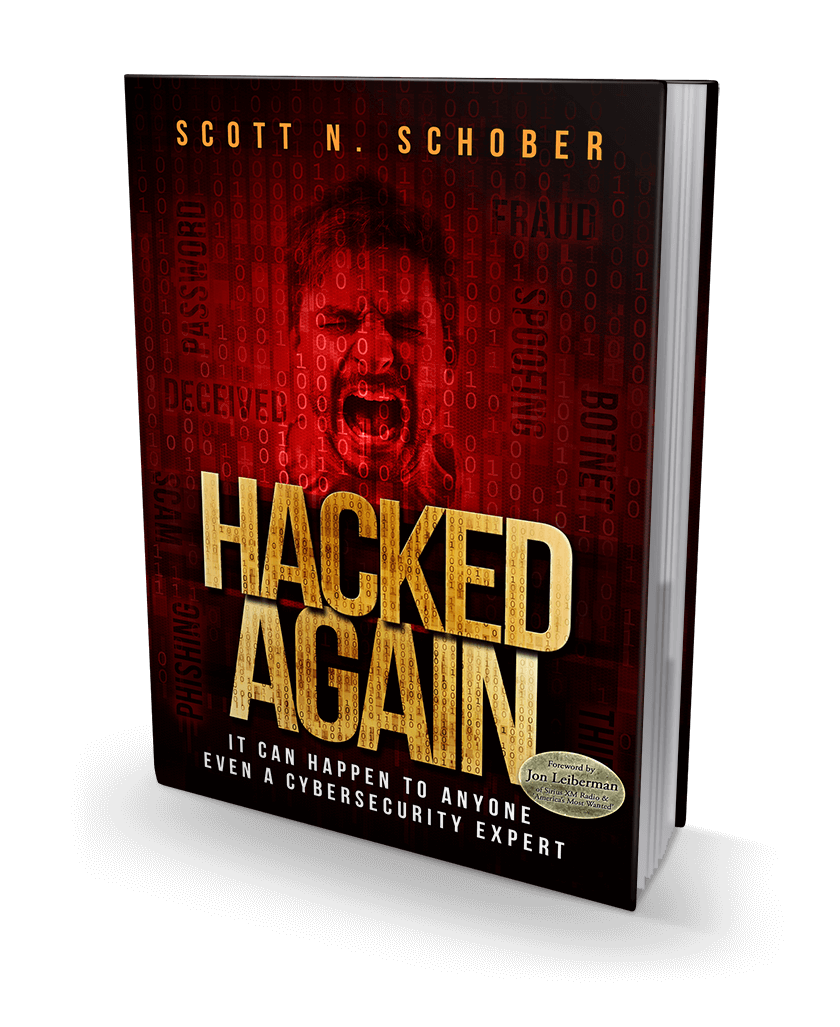 Hacked Again Soft Cover Book - It can happen to anyone, even a  cybersecurity expert